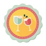 37605897-martini-glass-cheers-flat-icon-with-long-shadow-eps10