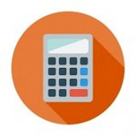 34015328-calculator-single-flat-color-icon-vector-illustration