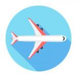 stock-illustration-43964342-flat-airplane-icon